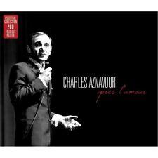 Charles Aznavour, Clayton-Hamilton Jazz Orchestra - Apres L'amour [New CD] UK -