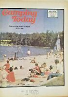 Camping Today NCHA Members April 1984 Newszine Magazine - Nicolet Bay Beach