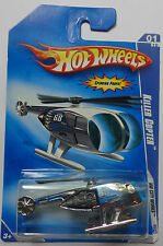 2009 Hot Wheels Killer Copter Col. #107 (Chrome Version)