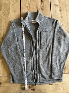 Simms 'Rivershed' Full Zip Sweater - Gray - Size Large, Excellent Condition