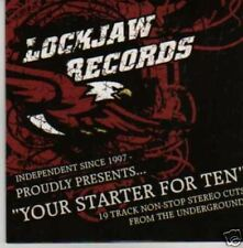 (500I) Your Starter For Ten, Lockjaw Records CD
