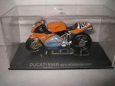 1:22 CHAMPION RACING MOTOR BIKES MOTO GP DUCATI 996R NEIL HODGSON 2001 #100