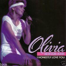 """NEW UK 12"""" Olivia Newton-John I HONESTLY LOVE YOU/PHYSICAL LIVE MINT 12EMI 5360"""