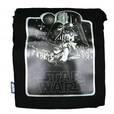 STAR WARS A NEW HOPE BLACK CANVAS FOLDER BAG SCHOOL-SPORTS BRAND NEW GREAT GIFT