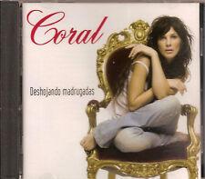 CORAL - deshojando madrugadas CD album 11TR Spanish  eurodance 2006 RARE!