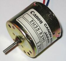 Canon EN35 DC Motor - 6 V - 6000 RPM - Smooth and Quiet Motor with Power Leads