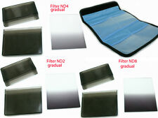 Graduated gradual ND2 ND 2 ND4 ND 4 ND8 ND 8 filter +pouch for Cokin P series,US
