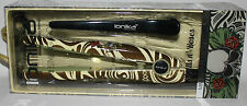 Ionika Professional Mini Hair Styling Flat Iron & Deluxe Clip SKULLS N' ROSES **
