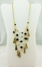 Multi-Layer Necklace Msrp $39.50 Inc International Concepts Bead/Shaky Stick