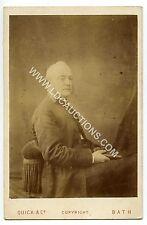 (Ga2396-100) RP, Victorian Cabinet Photo, Rev Elias Thackeray Stubbs of BATH