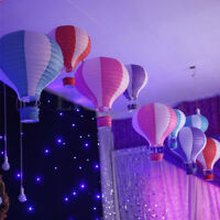 12″/ 16'' Hot Air Balloon Paper Lantern Home Room Birthday Party Wedding Decor