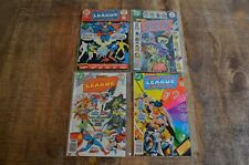 Justice League of America 107 147 1148 151 DC Bronze Age Comics Lower Grade