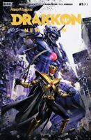 Power Rangers: Drakkon New Dawn #1 Variant by Clayton Crain Ltd. 888 🔥KEY🔥