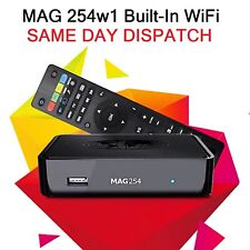 Infomir MAG 254 w1 IPTV Set Top Box with Builtin onboard integrated WiFi UK PLUG