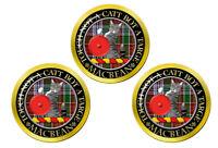 Macbean Écossais Clan Marqueurs de Balles de Golf