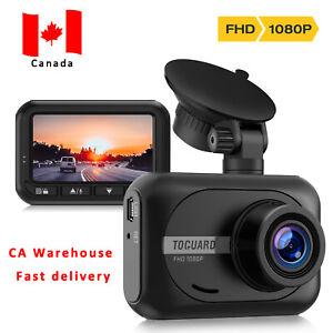 TOGUARD Mini Dash Cam 1080P Full HD Car Camera 2.45'' Cars Driving Recorder CA