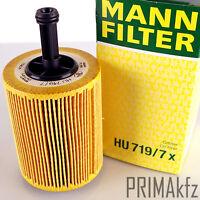 Filtro Mann HU719/7x Filtro de aceite AUDI A2 A3 A4 A6 Seat Altea Ibiza
