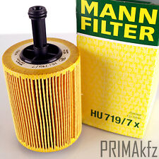 MANN FILTER HU719/7X Ölfilter VW Golf IV V VI Bora Caddy III Passat Polo Touran