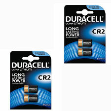 4 x Duracell CR2 3V Ultra Photo Camera Batteries DLCR2 Camera Lithium