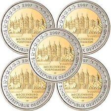 Pièces euro d'Allemagne pour 2 euro Année 2007