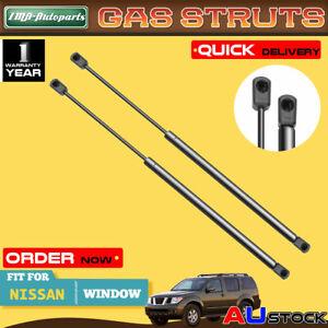 2x For Nissan Pathfinder R50 Series 1998 1999 2000-2004 Rear Window Gas Struts