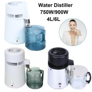 4L/6L Wasser Destilliergerät Wasserdestillierer Distiller Destillationsmaschine