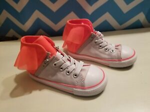 NWOT Toddler Girls Converse Sz.8