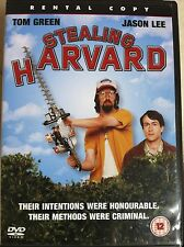 Jason Lee Tom Green STEALING HARVARD ~ 2002 Comedy UK DVD