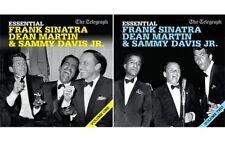 ESSENTIAL FRANK SINATRA, DEAN MARTIN & SAMMY DAVIS JR - 2 PROMO CDs  (2011)