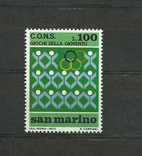 San Marino 1973 Youth games MNH