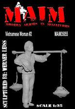 Vietnamita Donna # 2 / 1/35 Scala kit modello-GUERRA DEL VIETNAM DIORAMA