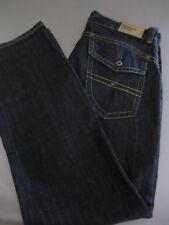 Tommy Hilfiger Herren Jeans W34 L34 Blau Denim mit Reißverschluß Dunkelblau top