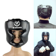 Boxing Headgear Safety Head Guard Helmet Punch Protector Mma Sparring Box Combat