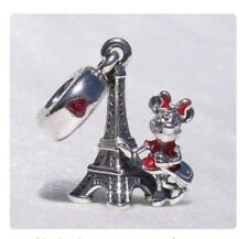 DISNEY LAND DISNEYLAND PARIS MINNIE MOUSE EIFFEL TOWER CHARM GENUINE BARGAIN