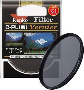 Kenko C-PL (W) Vernier Polarizing Filter Brand New boxed 52mm