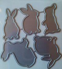 Baby Easter bunnies 5p Universal metal die cut tool rabbit chocolate candy ears