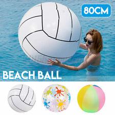 80cm/31'' надувной пляжный мяч летний бассейн вечеринки подарки мероприятий на свежем воздухе