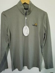 1 NWT GREG NORMAN WOMEN'S PULLOVER, SIZE: MEDIUM, COLOR: GRAY HEATHER (J158)