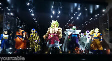 Acrylic Display Case LED Light Box for Megahouse Dimensions of DragonBall Figure