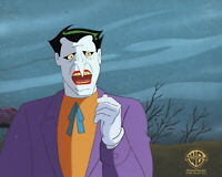Batman Animated Series Original Production Cel/OBG-Joker-The Laughing Fish
