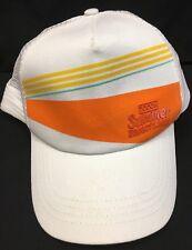 XXXX Summer Bright Lager Adjustable Snapback Cap Trucker Hat White Orange NEW