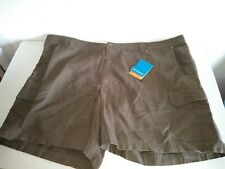NWT Columbia Sportswear Mens Size 50 Omni Shade UPF 40 Shorts Outdoors brown