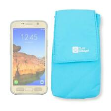 Ultra-portable Nylon Case in Blue for Samsung Galaxy S7 Active Smartphone