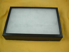 """one jewelry display box Riker Mount collectors frame 14 X 20 X 2"""" collection"""