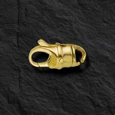 18K Yellow Gold Swivel Lobster Claw Clasp 8.4MM