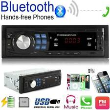 Car MP3 Radio Player Receiver Bluetooth Stereo Audio In-Dash FM Aux Input SD USB