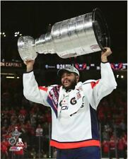 Devante Smith-Pelly Washington Capitals Hoists Stanley Cup 8x10 Photo
