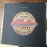BLIND WILLIE McTELL Atlanta twelve string.  1972 blues vinyl LP Atlantic SD7224