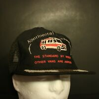 Kontinental Koaches Trucker Hat Cap Mesh Hipster Snapback Retro Vans USA Made