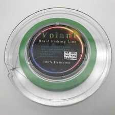 10LB 200M GREEN COLOR FISHING LINE 100% DYNEEMA PE LINE BRAID LINE